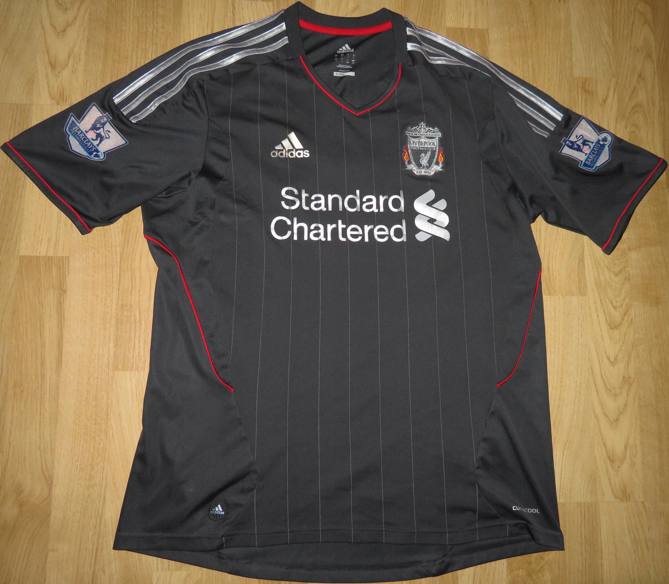 Koszulka piłkarska LIVERPOOL 1112 Adidas SUAREZ #L