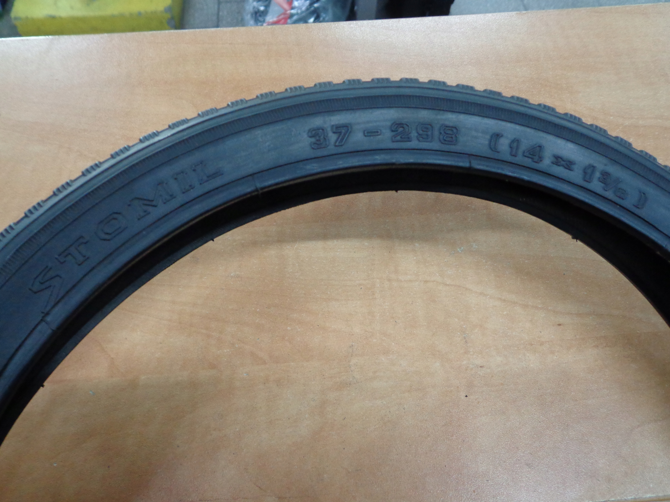 Opona rowerowa STOMIL 14x1 38