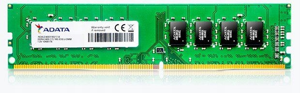 Pamięć ADATA Premier DDR4, 4GB, 2400MHz, CL17 (A