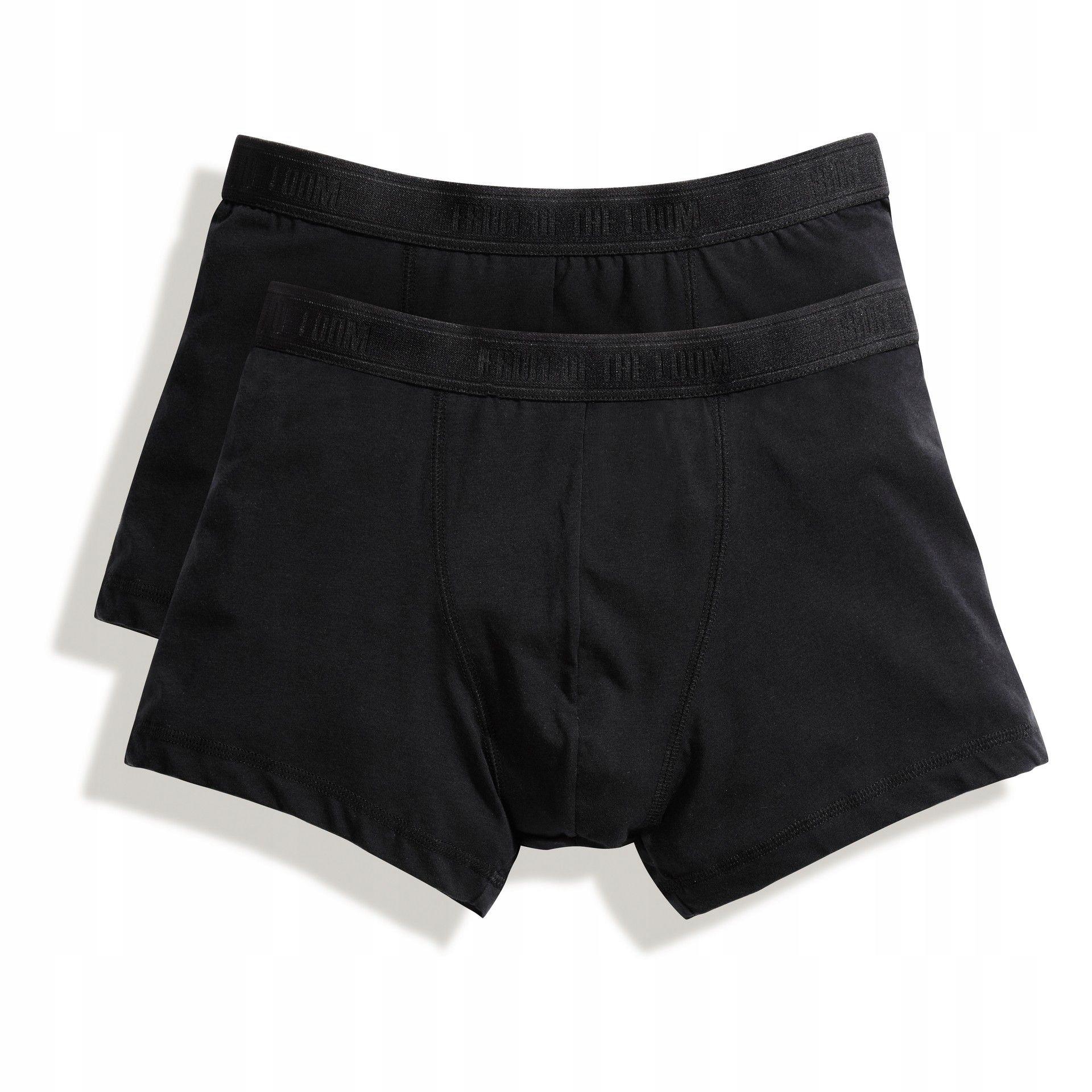 Bokserki FRUIT Shorty 2pack Black XXL
