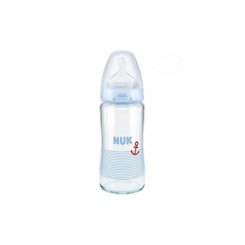 Butelka Szklana NUK First Choice 240 ml 0-6m