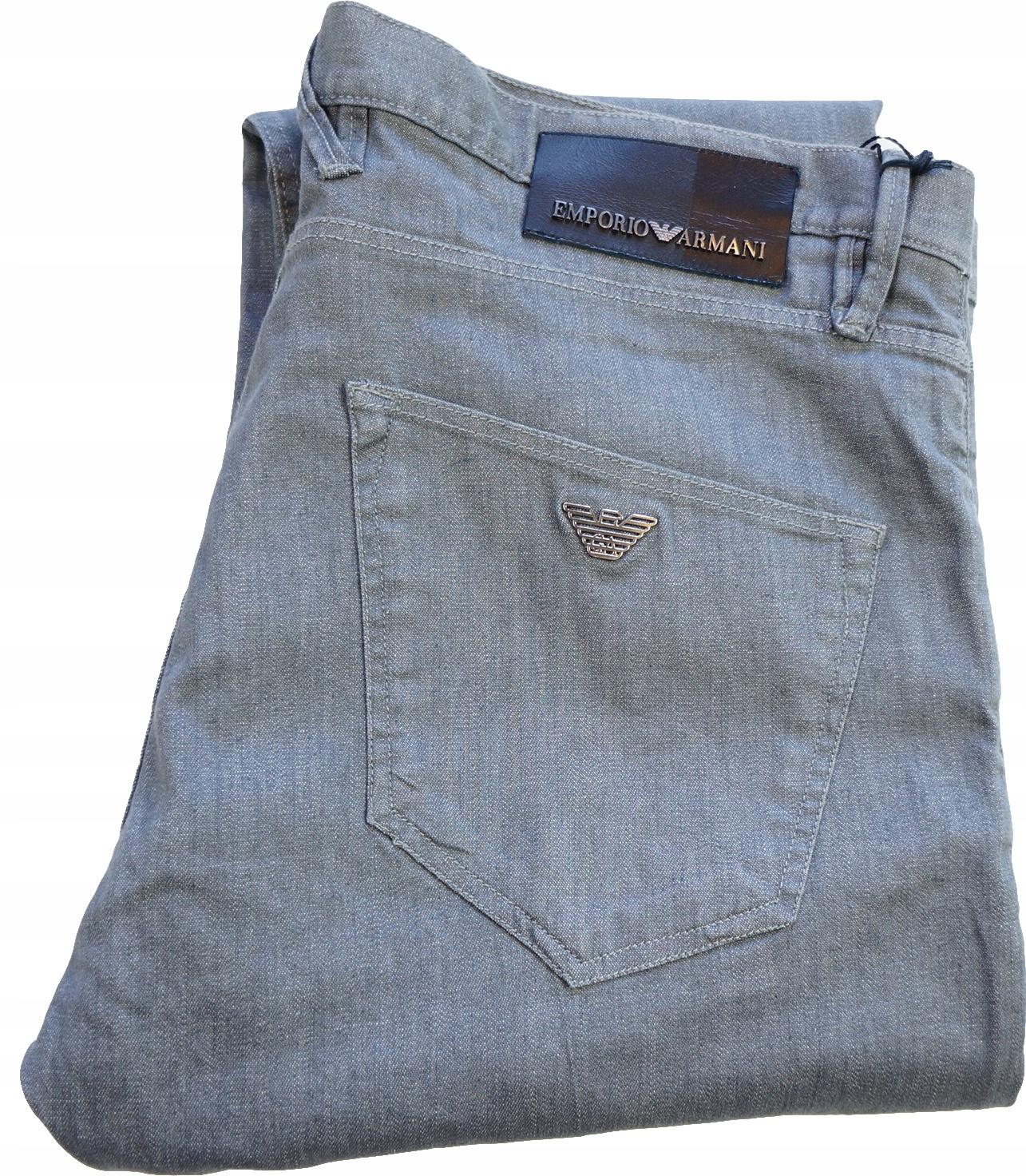 ARMANI spodnie 33 (Pas 98cm) Oryginał 100%!