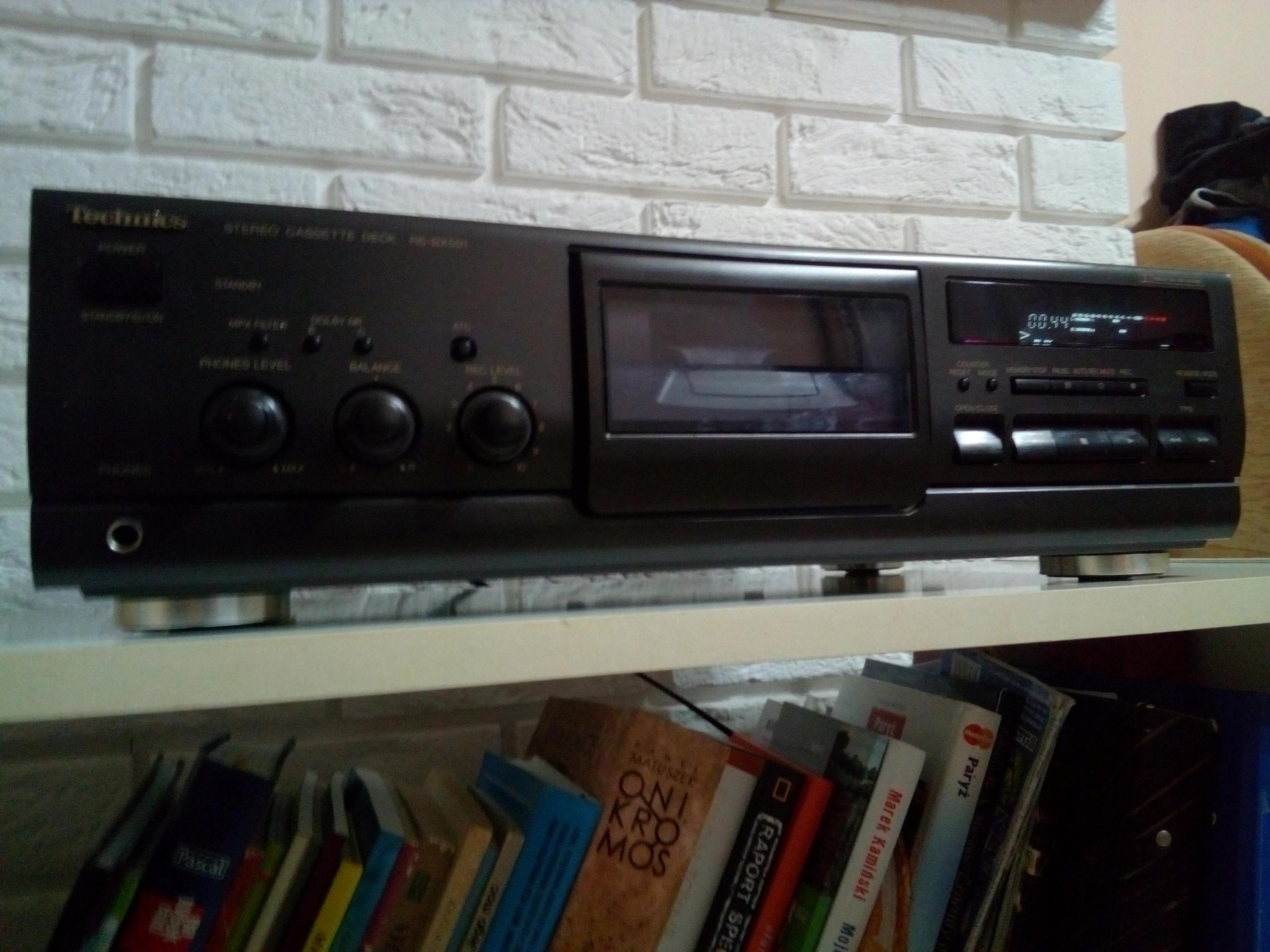 Magnetofon kasetowy Technics RS-BX501