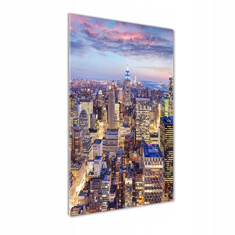 Foto obraz szkło hartowane Nowy Jork 70x140 cm