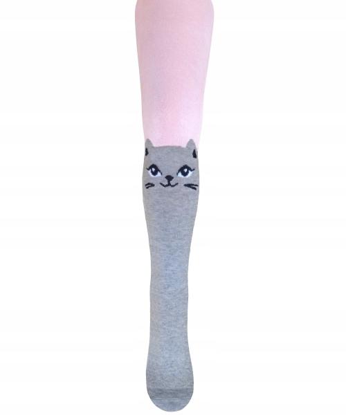 34c0c83fe3e285 Rajstopy różowe kotki Milusie 128/134 - 7797364653 - oficjalne ...