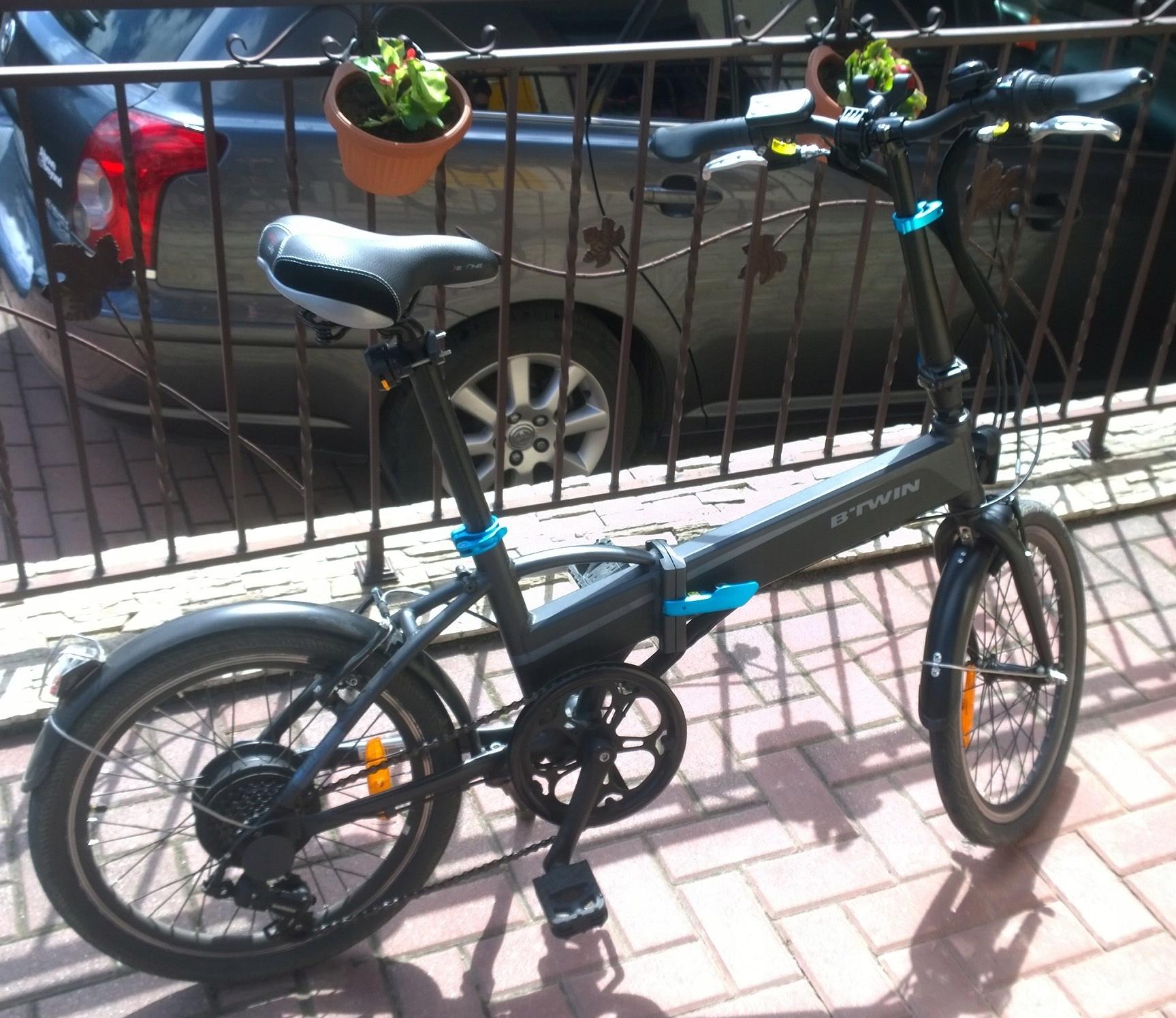 Rower elektryczny BTWIN TILT 500E