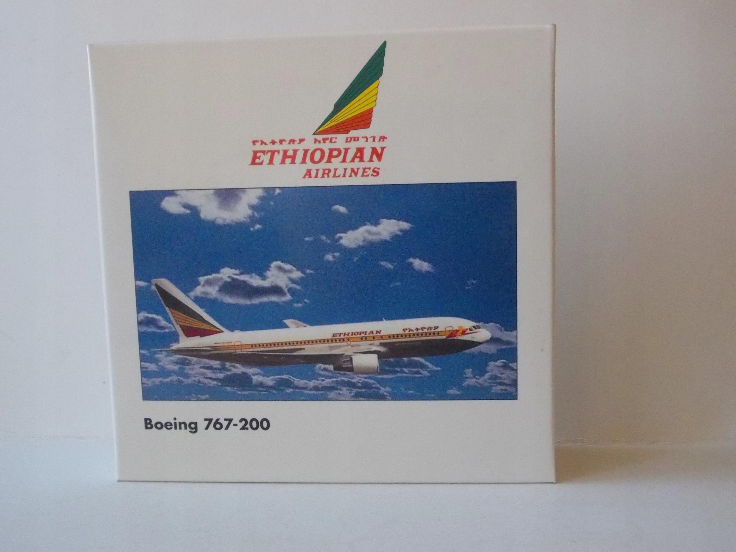 BOEING 767-200 / ETHIOPIAN AIRLINES /- HERPA 1:500