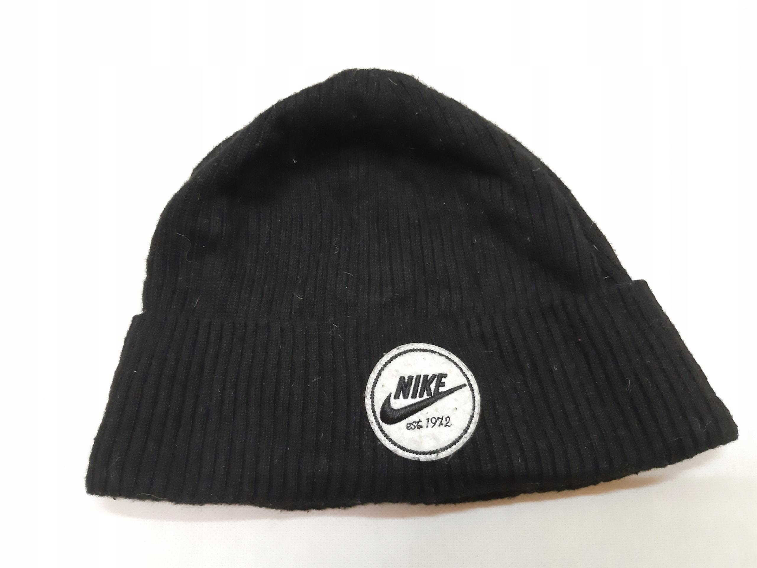 Czarna czapka Nike uniseks R9