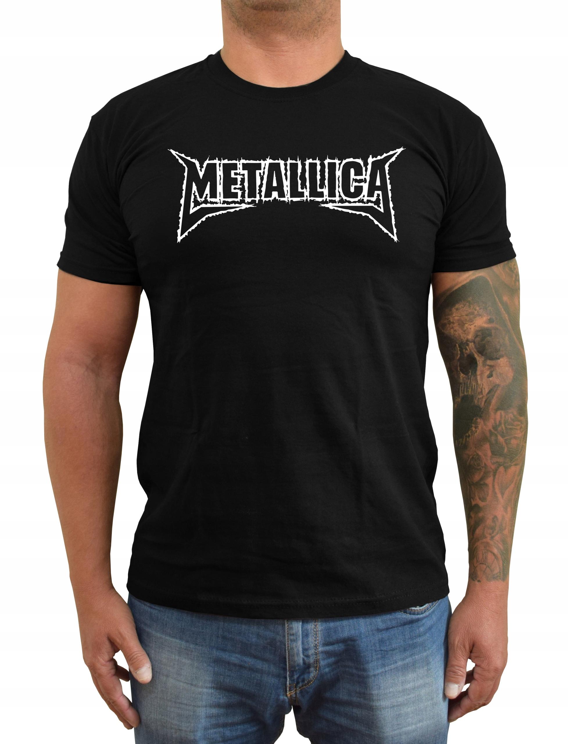 Koszulka T-Shirt Koncert Metallica Logo 4