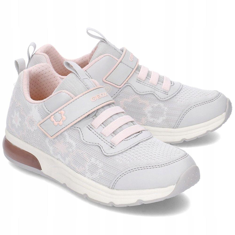 GEOX Spaceclub Sneakersy Szare R.28