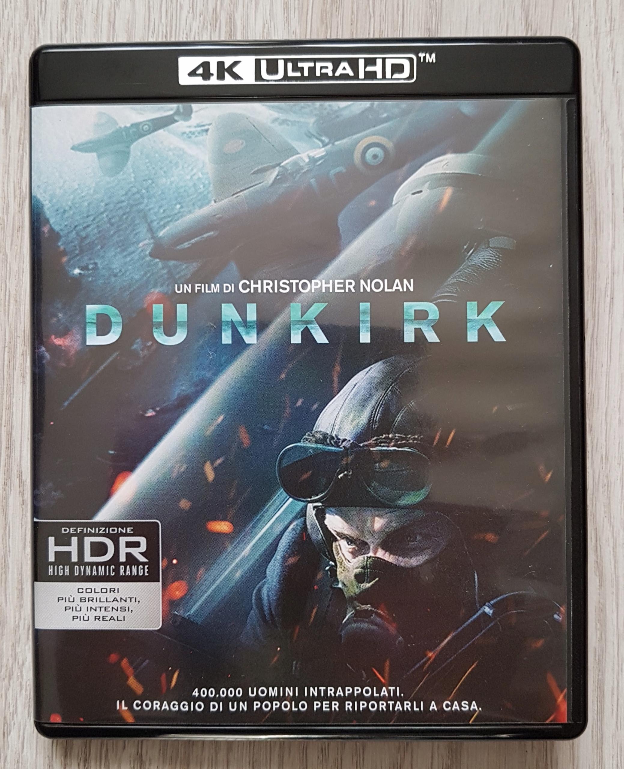 DUNKIRK [4K Ultra HD + 2 Blu-ray] DUNKIERKA PL