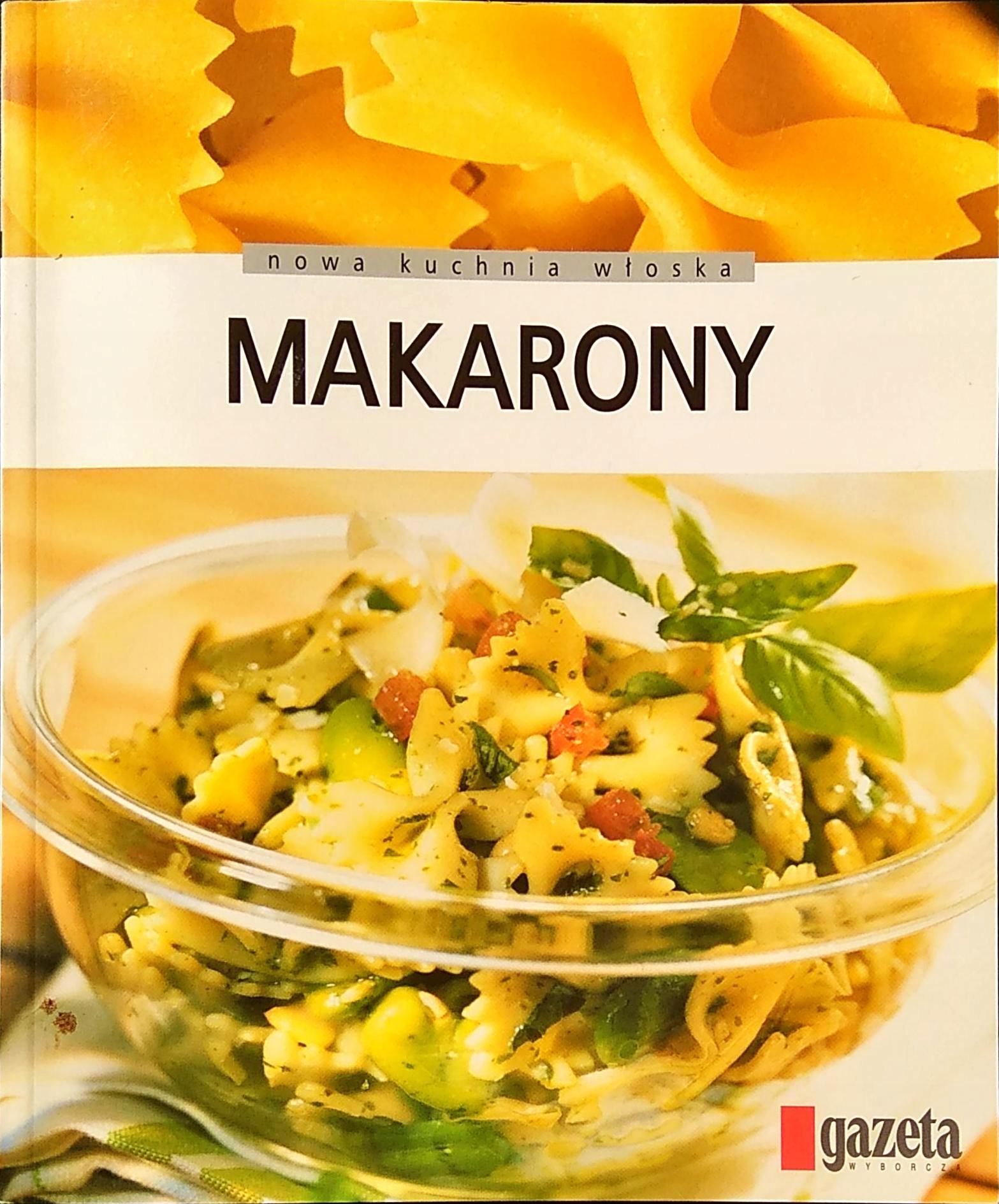 Makarony Nowa Kuchnia Włoska 7574034842 Oficjalne