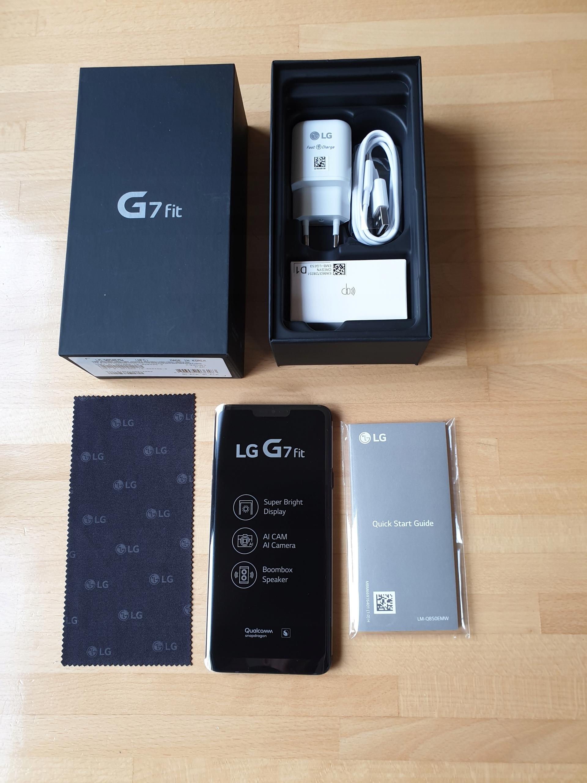 LG G7 FIT NOWE