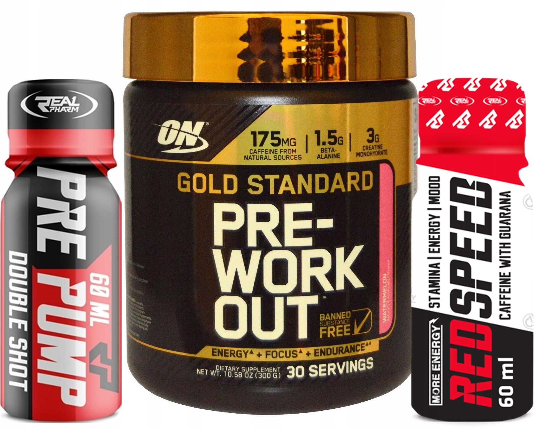 Optimum Gold Standard Pre Workout PRZEDTRENINGÓWKA