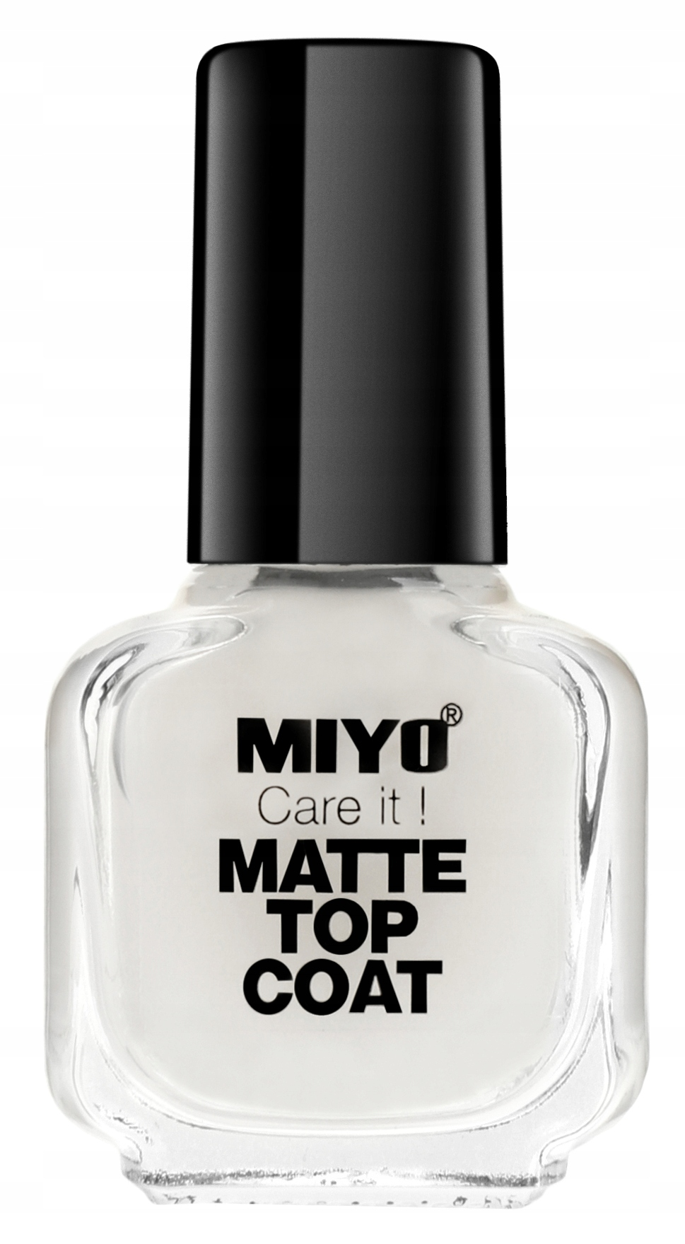 MIYO - Care it! MATTE TOP COAT - Matowy lakier