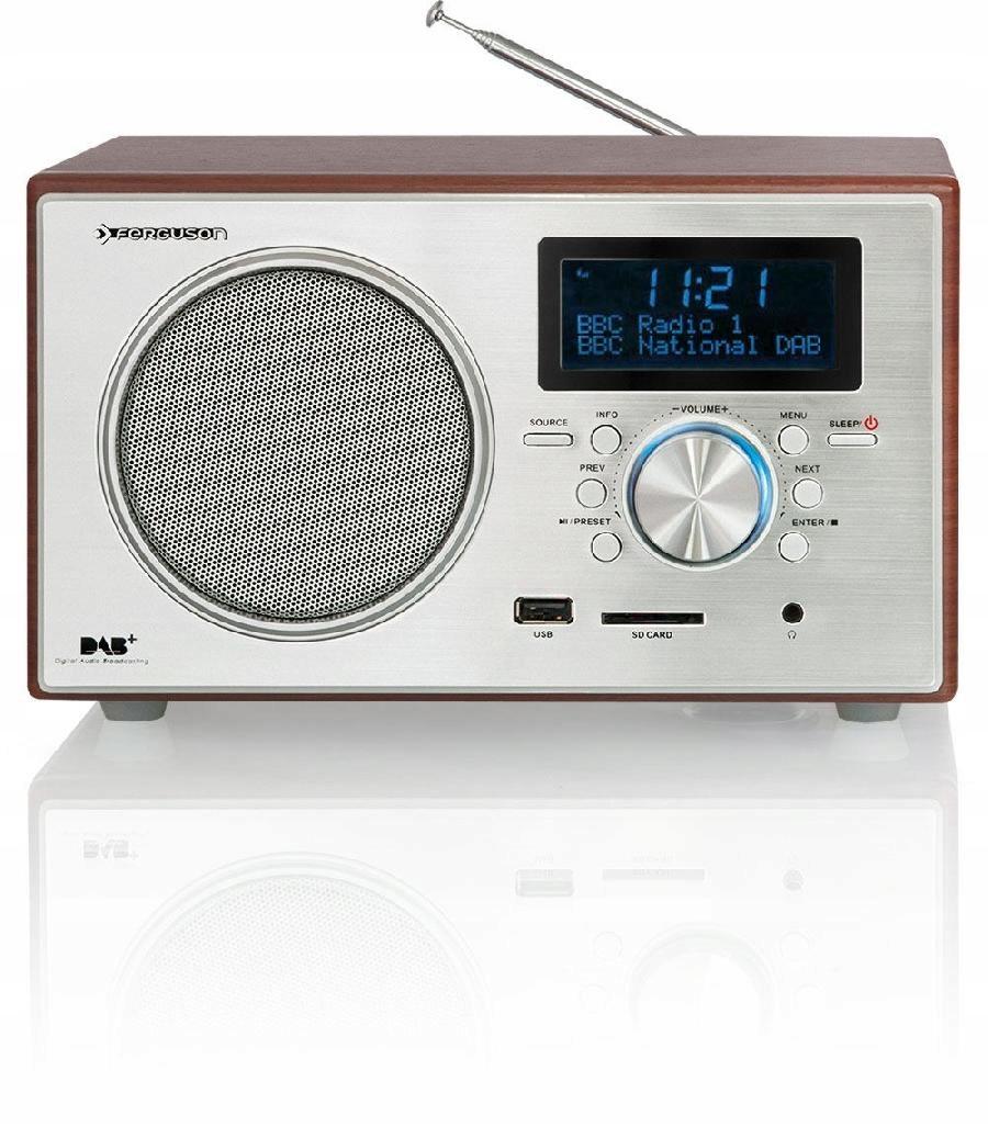 Radio DAB+ Digital 150 FERGUSON USB CZYTNIK SD