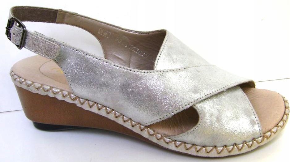 RIEKER Wz. 66170-90 roz.40 sandały