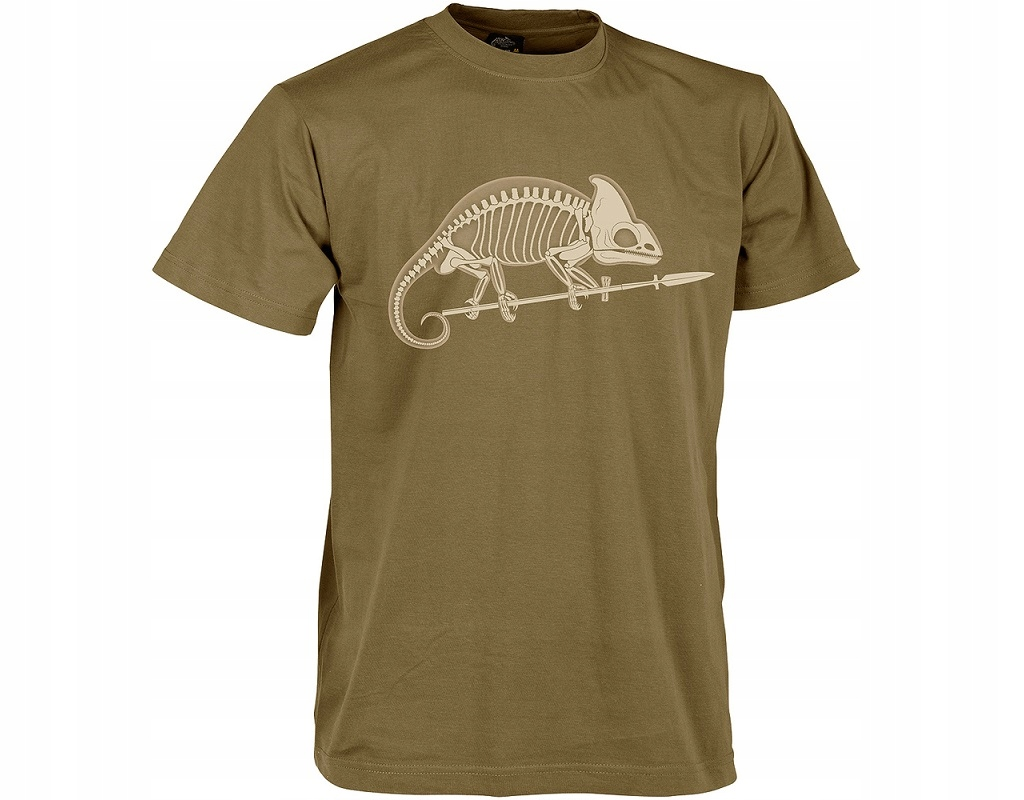 Koszulka T-shirt Helikon Szkielet Coyote M