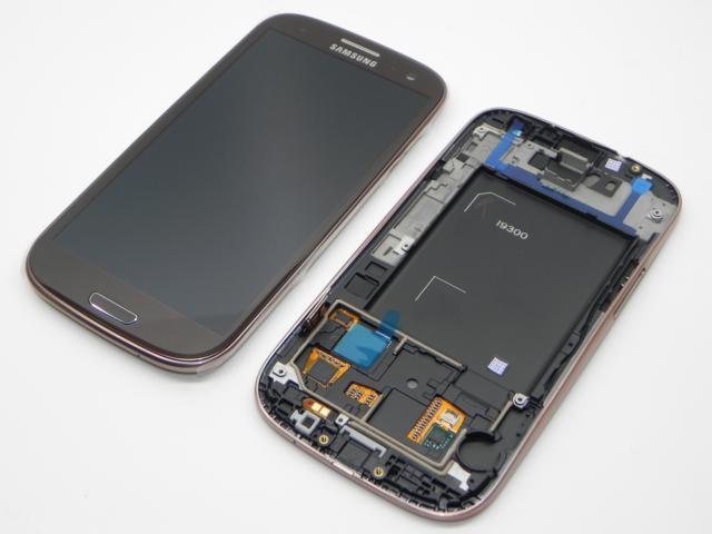 100%OR WYŚWIETLACZ LCD DOTYK SAMSUNG i9300 S3 brąz