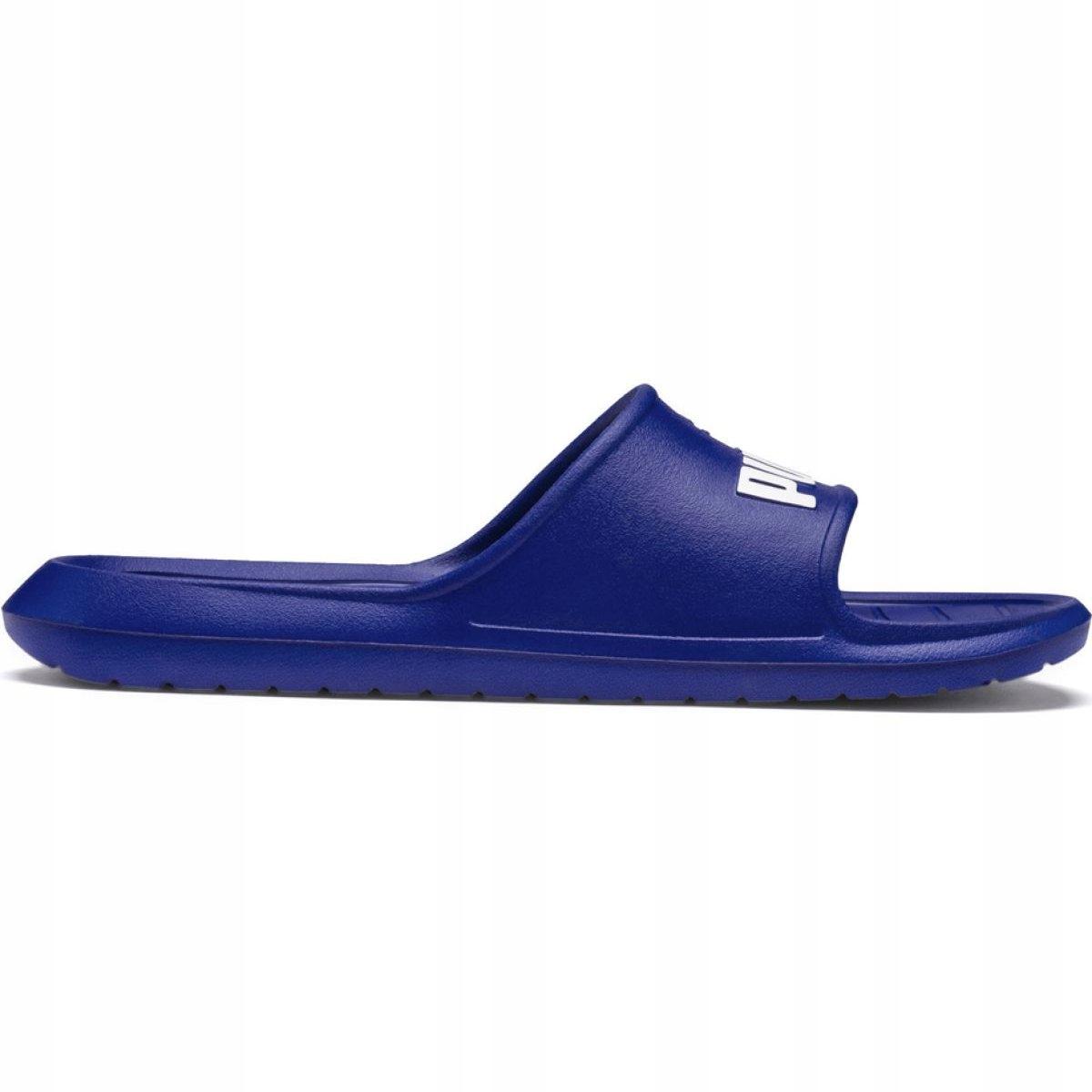 Niebieskie Buty Męskie Klapki Puma r.43
