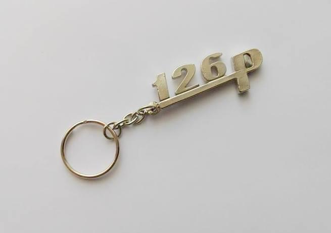 126p - retro brelok do kluczy