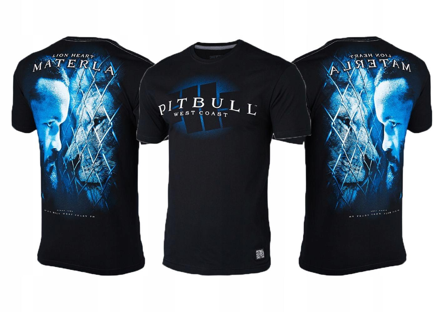 T-Shirt MMA Pit Bull KSW 45 Materla Walk Out XL