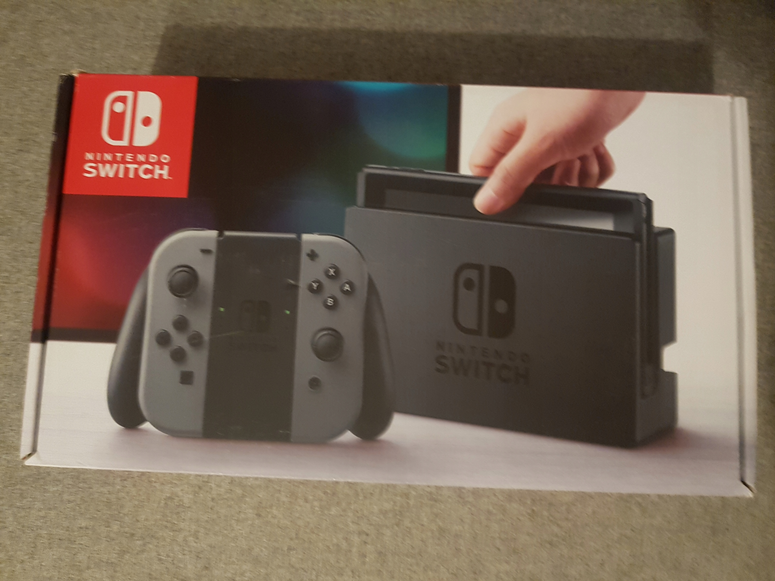 Nintendo Switch konsola komplet! Idealna!