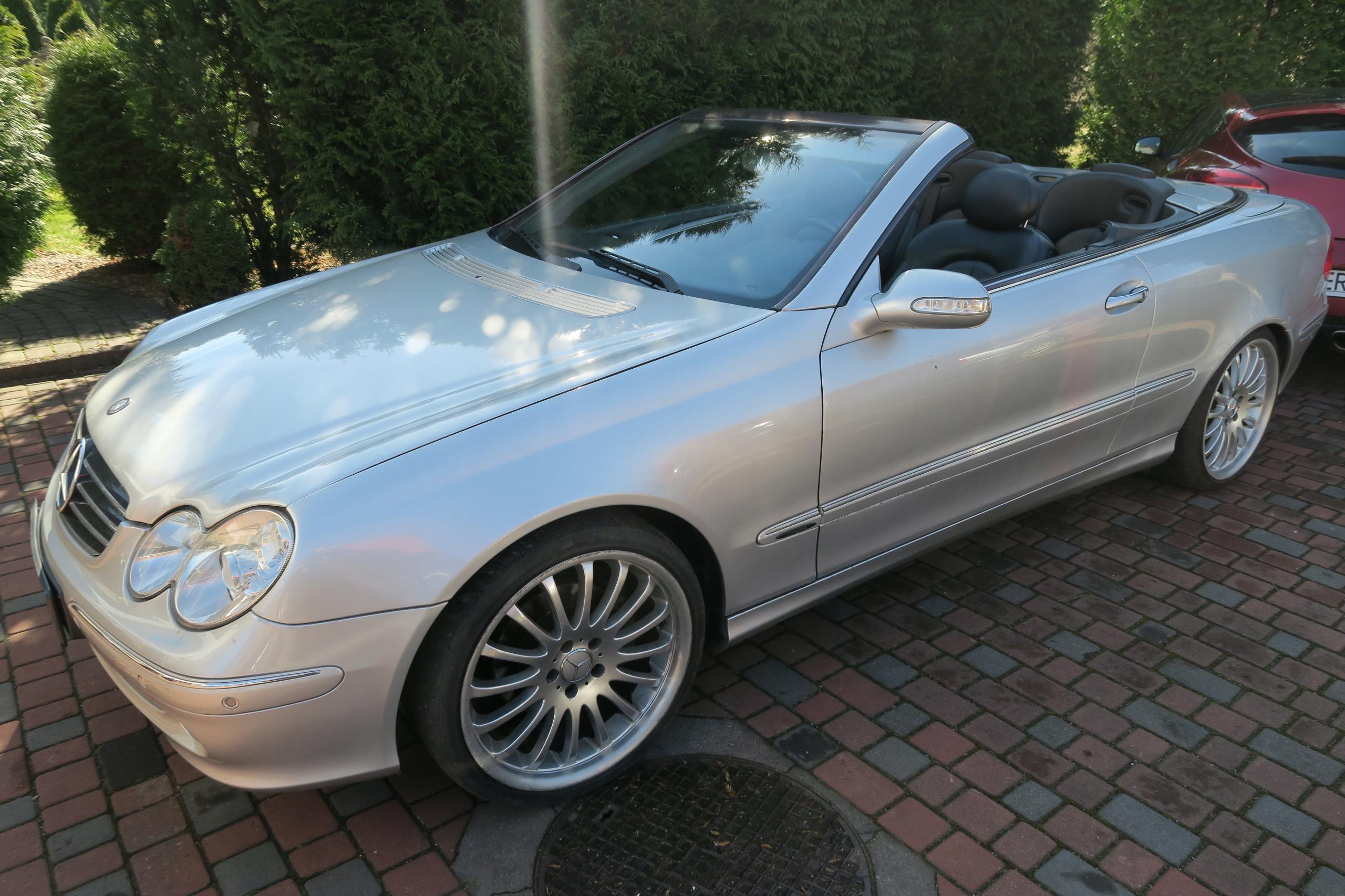Mercedes clk 3.2 Avangarde