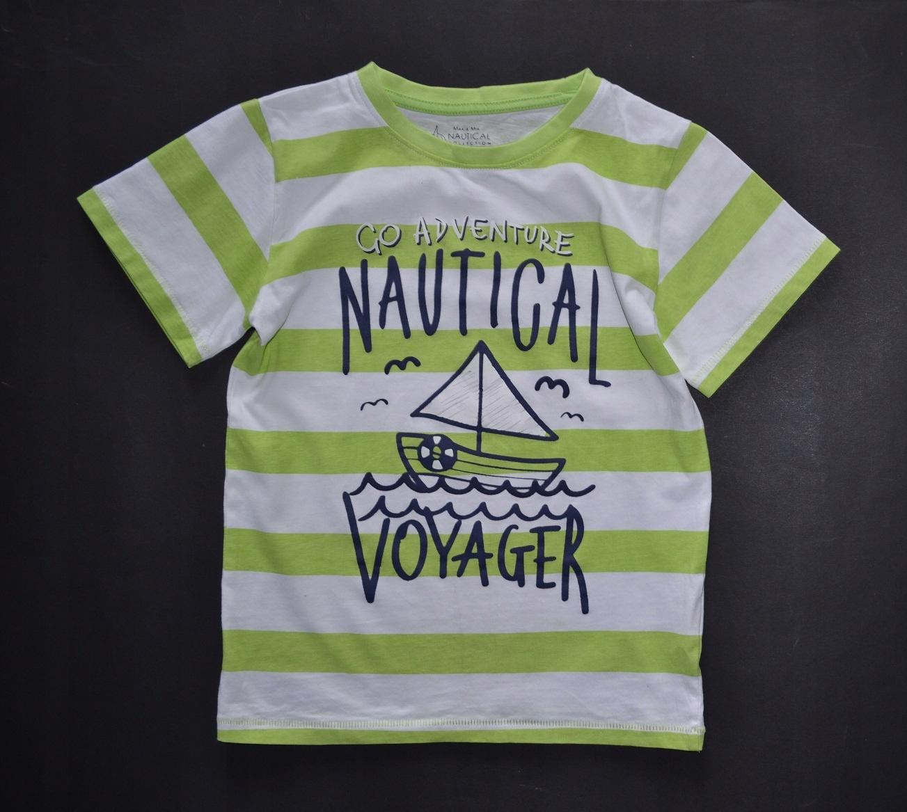 5.10.15 bluzka t-shirt pasy NAUTICAL VOYAGER! 128