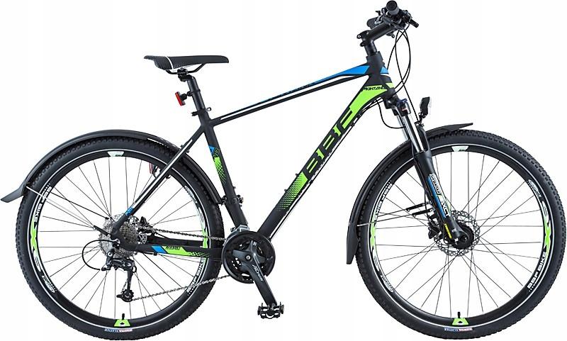 MTB Hardtail BBF Montana Pro Czarny 50 Zielony