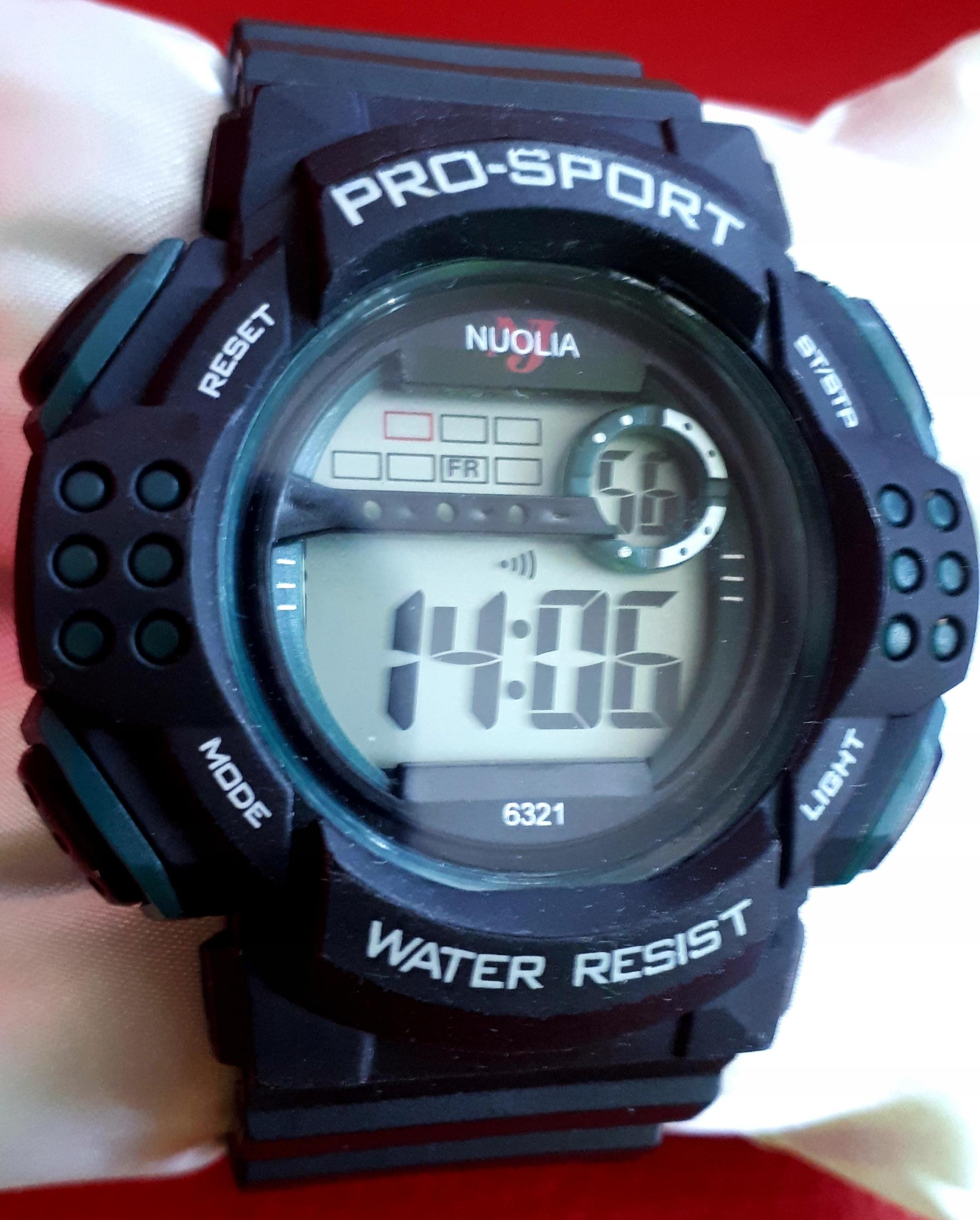 Zegarek Sportowy NUOLIA. OKAZJA!