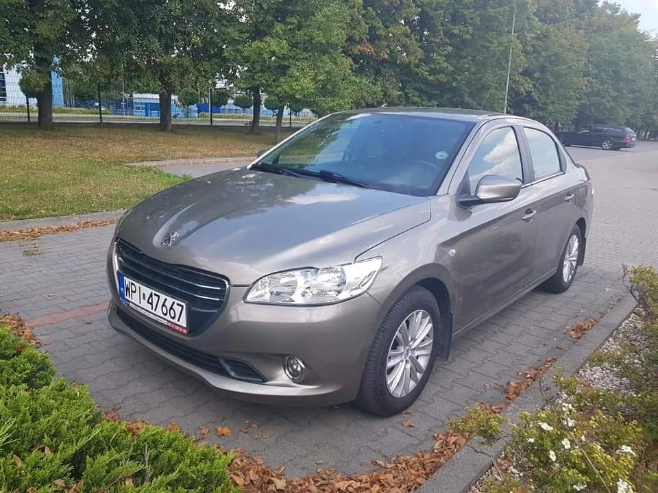 Peugeot 301 1.6 Benzyna Wersja Allure 2013/2014