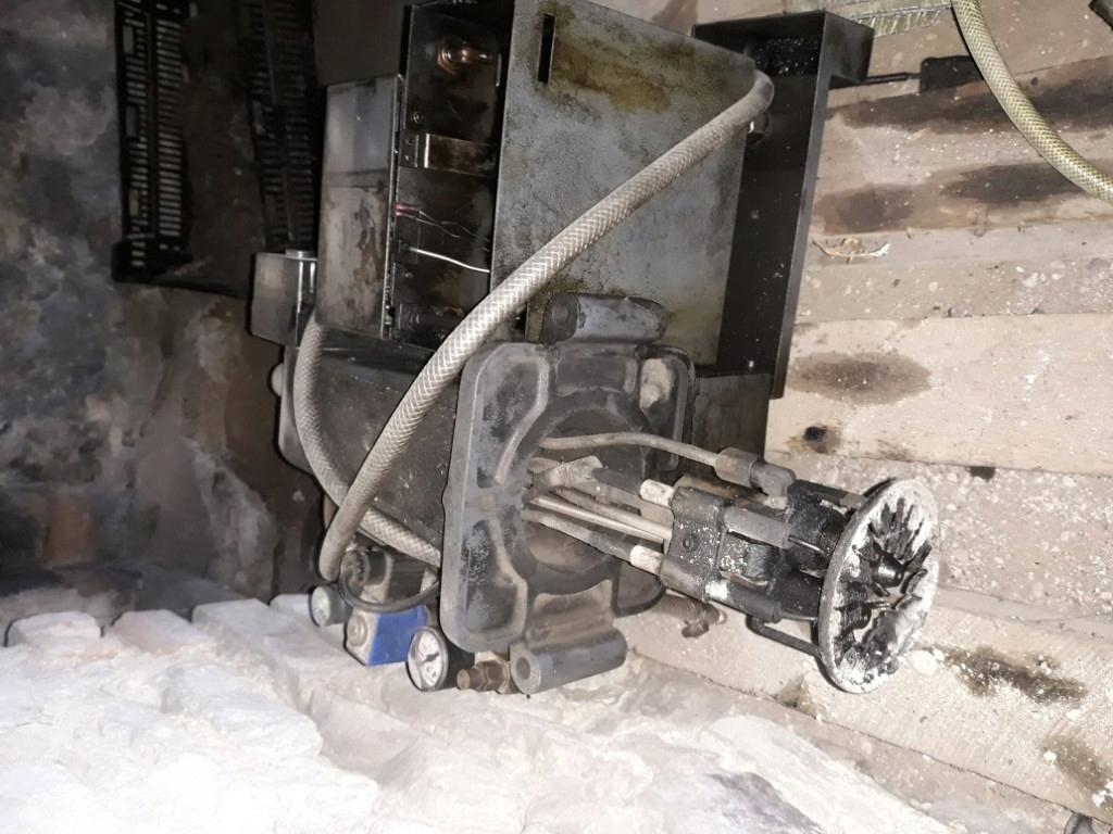 palnik na olej przepracowany