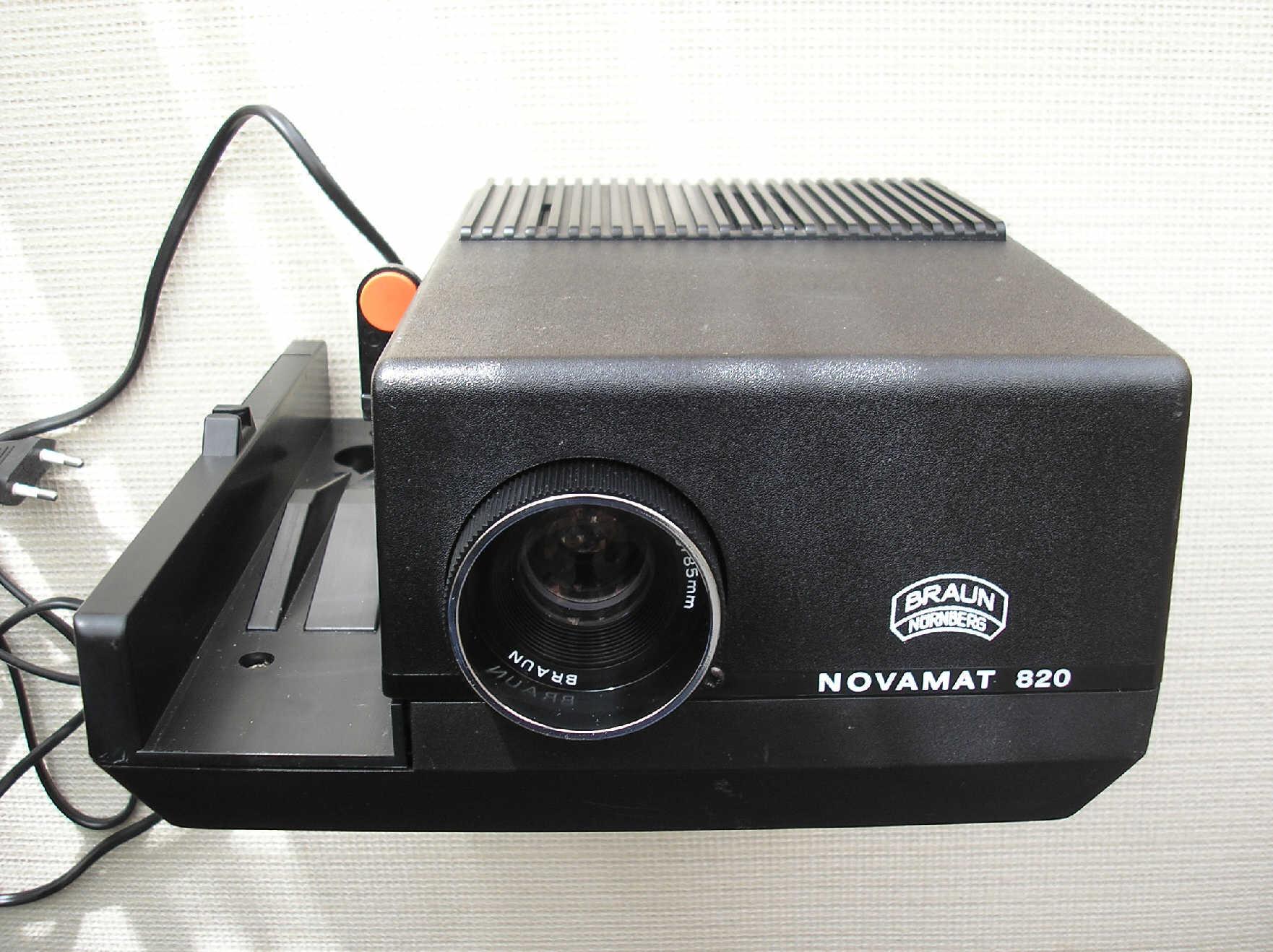 Braun Novamat 820 - rzutnik
