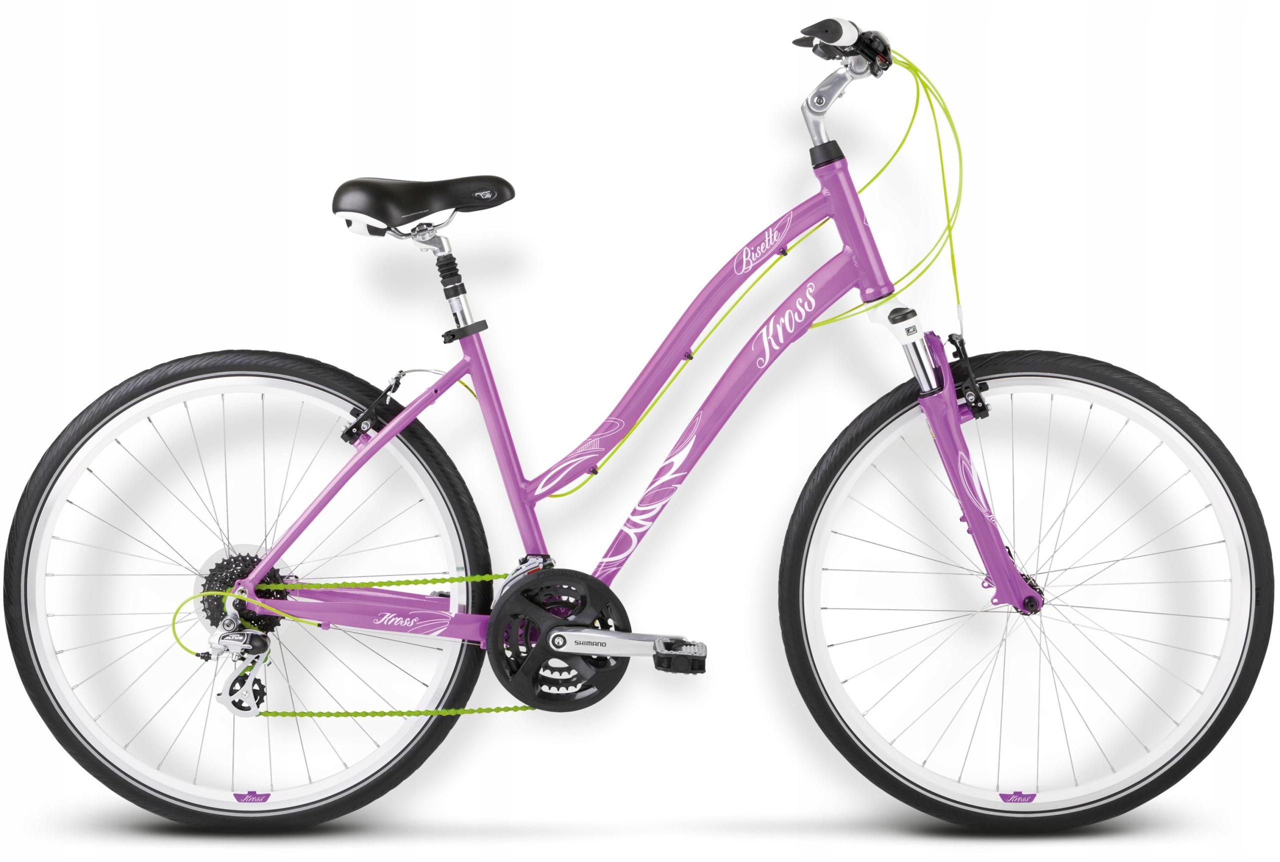"Rower Kross Bisette S 28"" damski fioletowy"