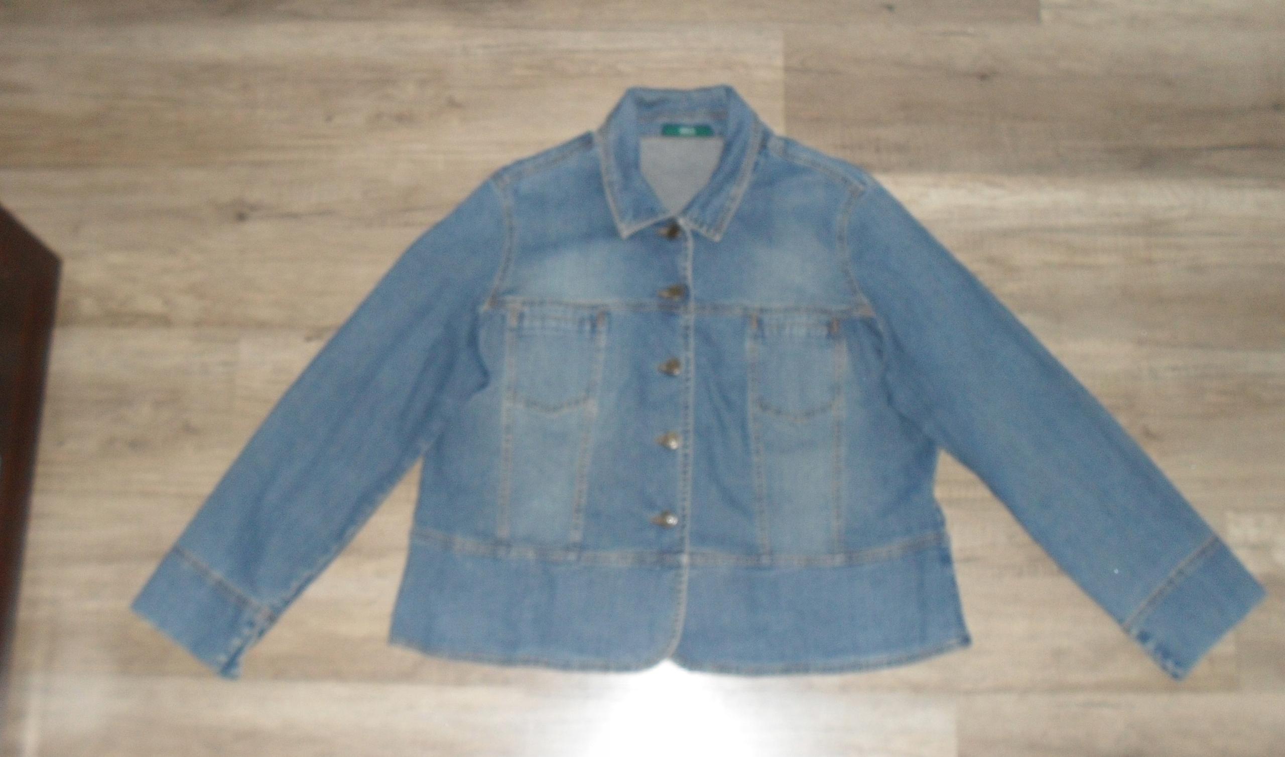 Marks & spencer Piękna kurtka jeansowa r 48/50