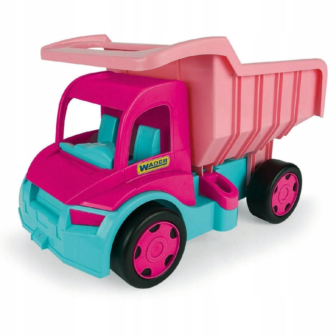 Wywrotka dla dziewczynek Gigant Truck różowa