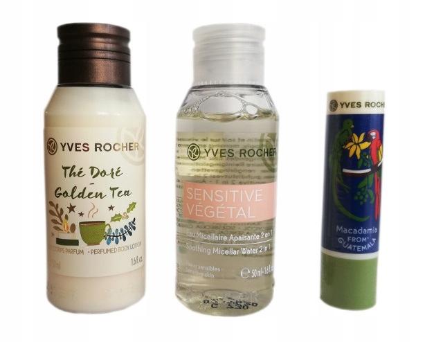 Yves Rocher Zestaw mini kosmetyków+3xGRATIS !!!