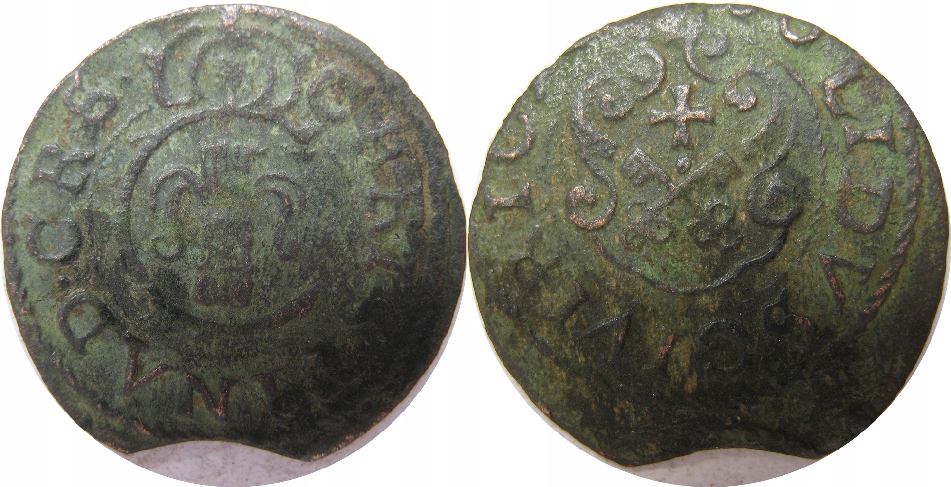 Szelag Christina ,Ryga, fals z epoki