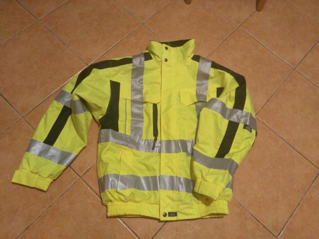 ELDEE 3M Scotchlite kurtka robocza wodoszczelna M