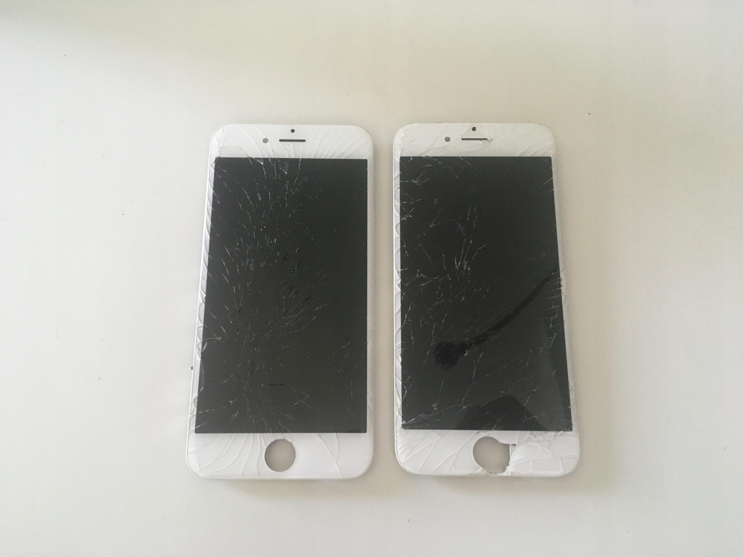 wyświetlacz iPhone 6s zbita szybka, do regeneracji