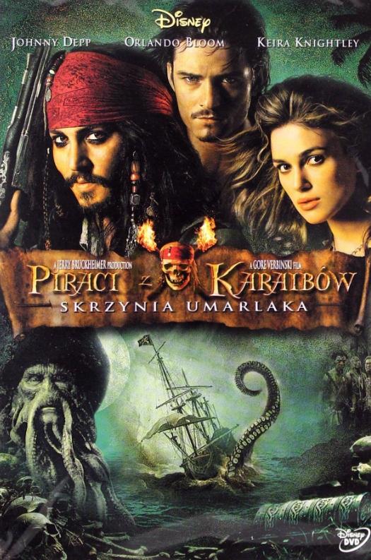 Piraci z Karaibów - Skrzynia umarlaka DVD