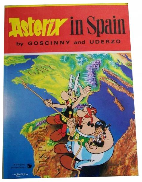 GOSCINNY & UDERZO - ASTERIX IN SPAIN