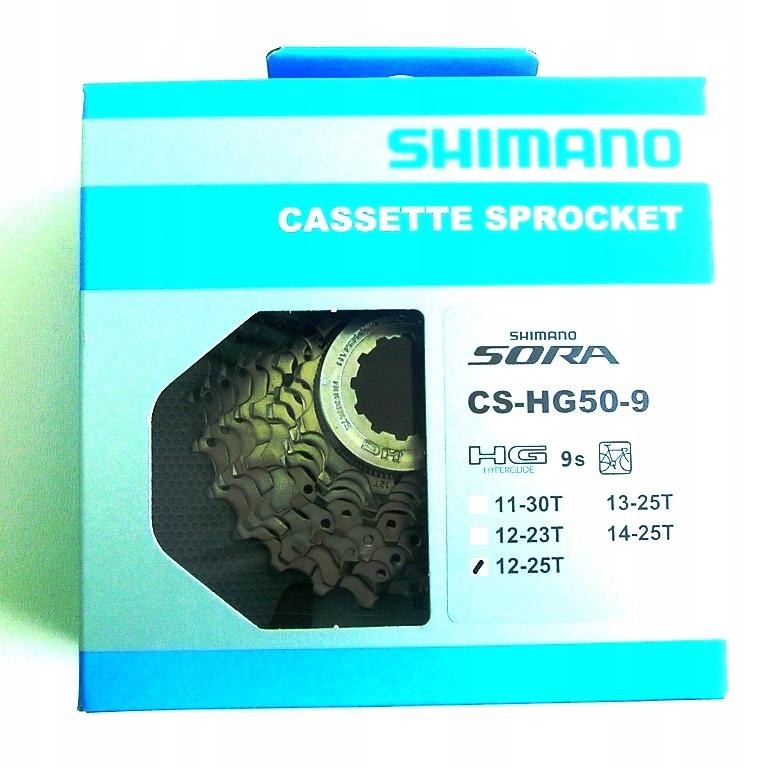 SHIMANO 9 CS-HG50-9 12-25 MTB SZOSA