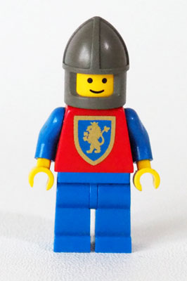 1985 - Crusader Lion (cas113) - LEGO Castle