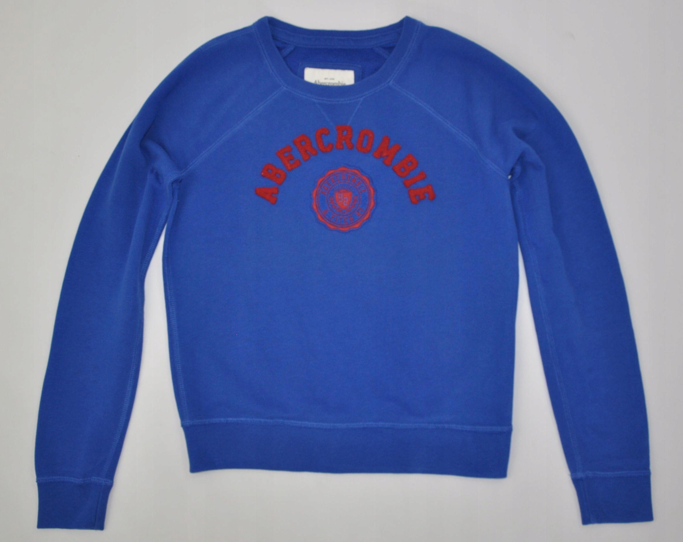 ABERCROMBIE & FITCH bluza dresowa M