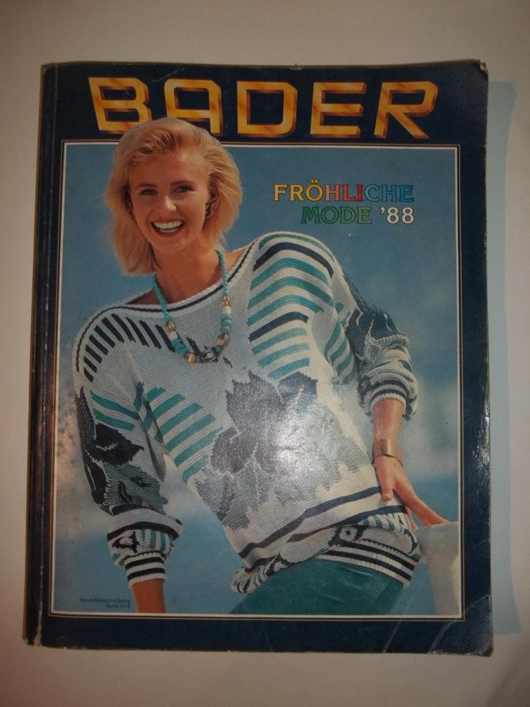 Katalog BADER - 1988r.
