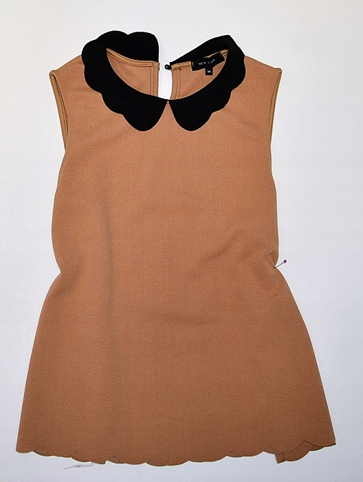 6405-45 ...NEW LOOK... a#g CAMELOWY TOP BEBE r.42