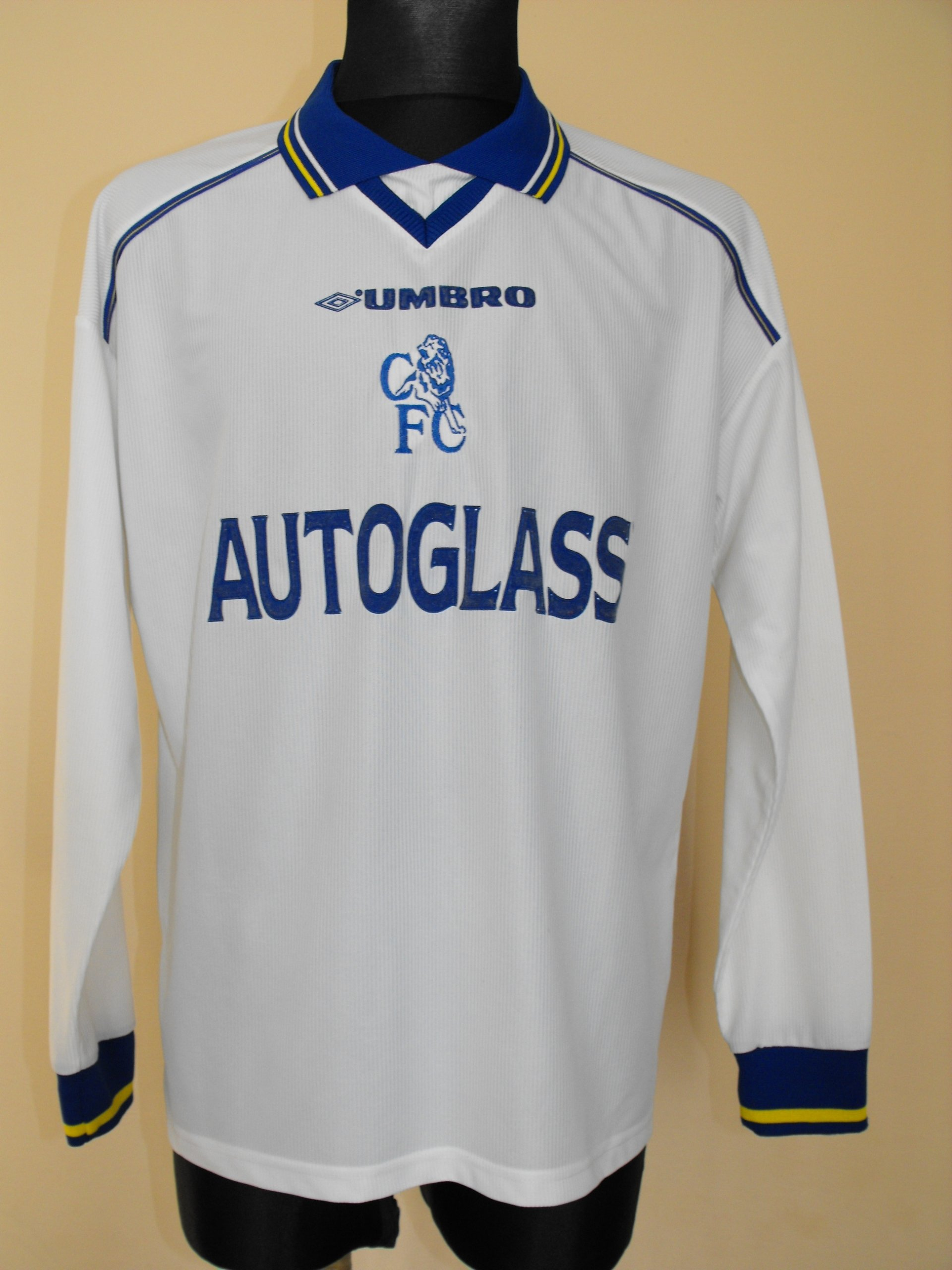 CHELSEA LONDON UMBRO AUTOGLASS UNIKAT ROZM OK.L
