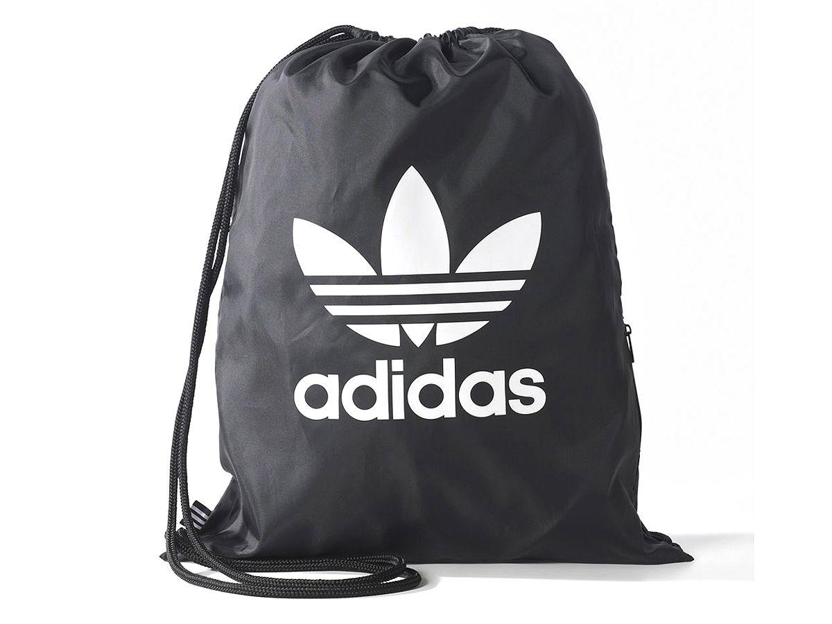 fc33a87072b5e Adidas Worek plecak Gymsack Trefoil BK6726 czarny - 7406698374 ...
